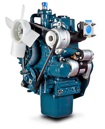 4-cycle idi diesel engine with a capacity of 10 9hp at 3600rpm  don't  mistake its compact size, this is one of the most hardworking, efficient  and